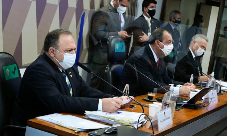 Ex-ministro da Saúde foi o oitavo a prestar depoimento no Senado   Foto: Edilson Rodrigues   Agência Senado - Foto: Edilson Rodrigues   Agência Senado