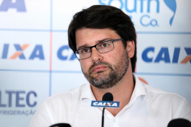 Presidente não foi atendido pela Federação | Foto: Felipe Oliveira | E.C.Bahia - Foto: Felipe Oliveira | E.C.Bahia