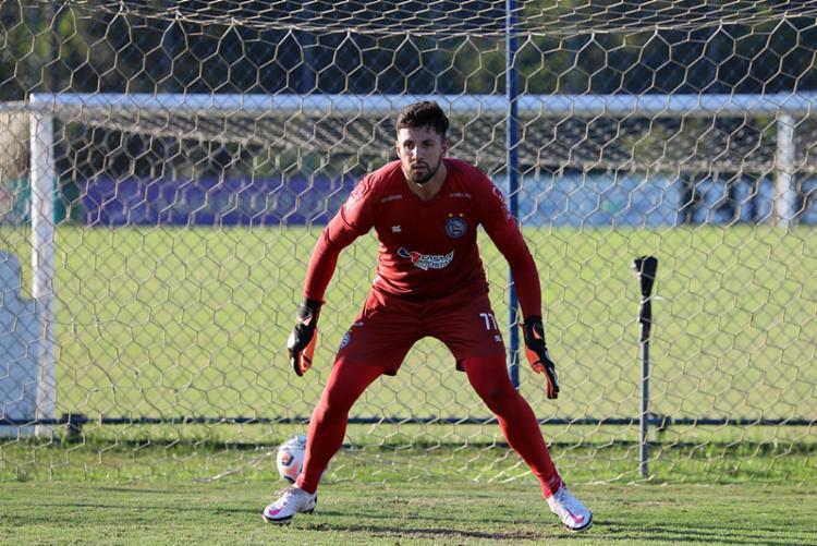 Claus ganha nova chance após lesão grave | Foto: Felipe Oliveira | EC Bahia - Foto: Felipe Oliveira | EC Bahia