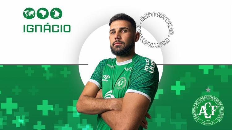 Jogador fica no clube catarinense até o final da temporada | Foto: Divulgação | Chapecoense - Foto: Divulgação | Chapecoense
