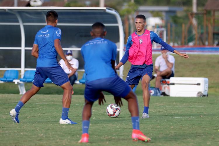 Pablo marcou o gol do triunfo do Bahia, no Estádio de Pituaçu | Foto: Felipe Oliveira | EC Bahia - Foto: Felipe Oliveira | EC Bahia