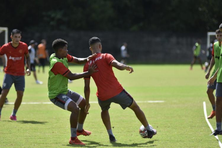 Leão iniciou preparação para enfrentar o Fluminense de Feira | Foto: Pietro Carpi | E.C.Vitória - Foto: Pietro Carpi | E.C.Vitória
