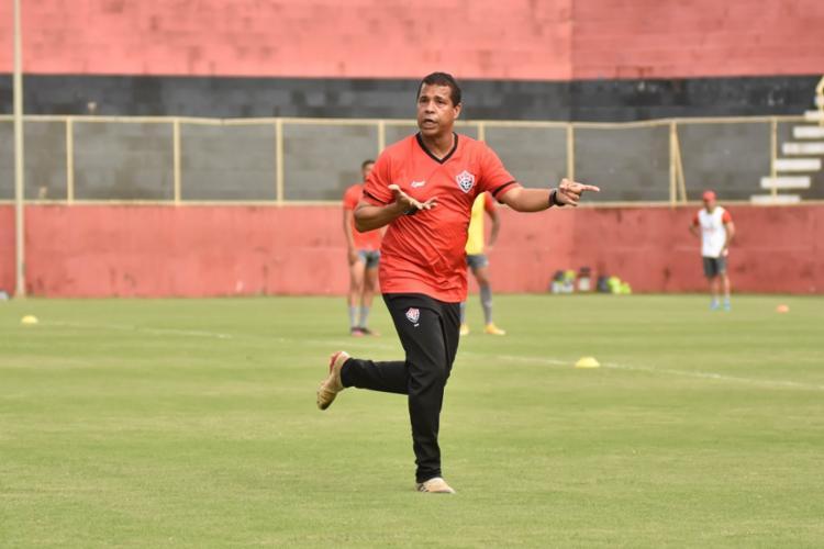 Rodrigo ainda falou que pode ter novidades no time titular contra o Guarani | Foto: Pietro Carpi | EC Vitória - Foto: Pietro Carpi | EC Vitória