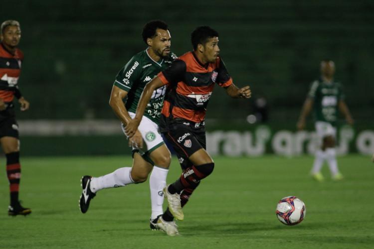 O primeiro gol do Leão foi anotado por Soares, nos primeiros minutos de partida | Foto: Denny Cesare | Divulgação - Foto: Denny Cesare | Divulgação