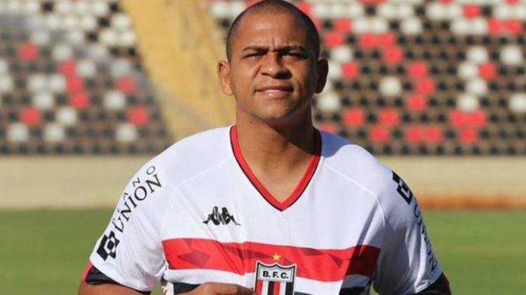 Atacante foi anunciado pelo Pantera nesta segunda-feira | Foto: Divulgação | Botafogo-SP - Foto: Divulgação | Botafogo-SP