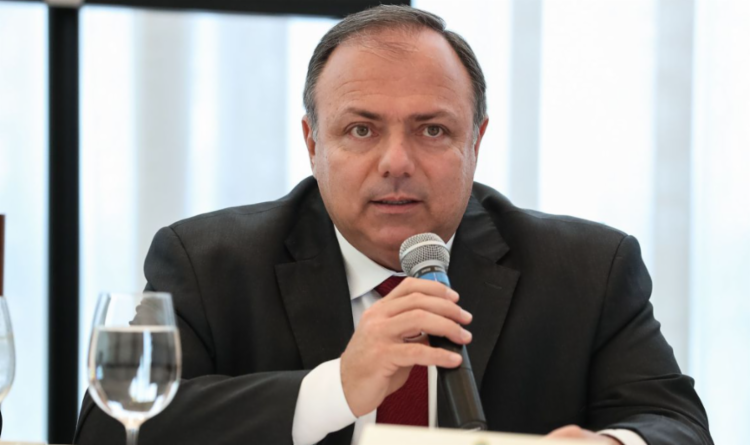 Eduardo Pazuello em discurso - Foto: Marcos Correa/PR