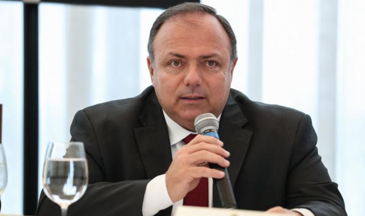Pazuello afirmou que, desde agosto, órgãos técnicos eram contrários ao acordo com a farmacêutica   Foto: Marcos Correa   PR - Foto: Marcos Correa   PR