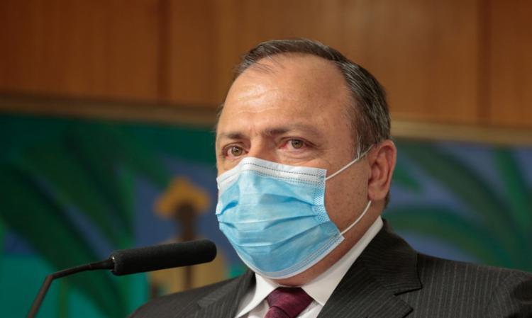 Pazuello alegou ter tido contato com dois servidores infectados pela Covid-19 para não comparecer à CPI da Covid, - Foto: Divulgação