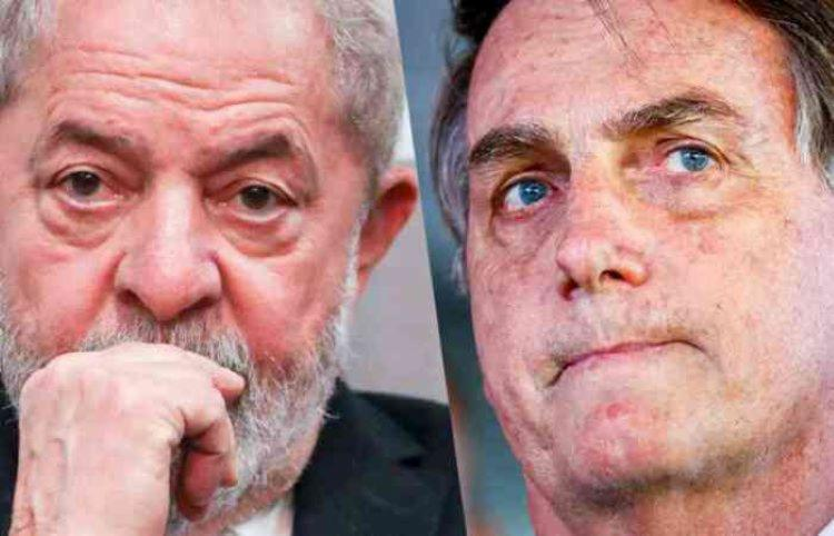 Lula venceria Bolsonaro no 2º turno, se a eleição fosse hoje - Foto: Reprodução