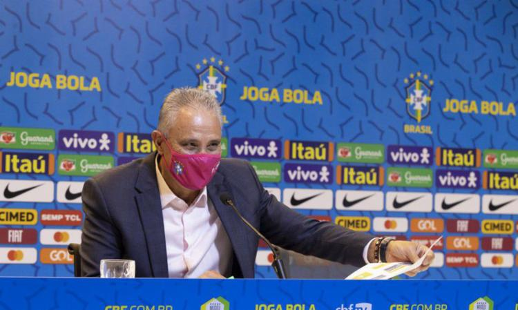 Novidade na lista é o zagueiro Lucas Veríssimo, do Benfica (POT) I Foto: CBF - Foto: CBF