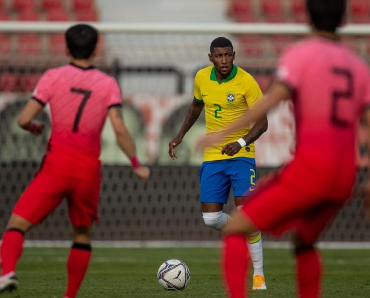 Lateral estava na lista da Seleção Olímpica | Foto: Ricardo Nogueira | CBF - Foto: Ricardo Nogueira | CBF