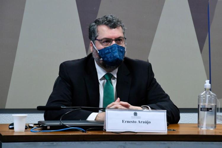 O ex-chanceler alegou que precisava garantir o estoque no Brasil para outras doenças | Foto: Agência Brasil - Foto: Agência Brasil