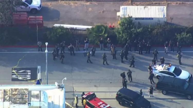 Segundo as primeiras informações, o suspeito dos ataques foi morto   Foto: Reprodução   CNN - Foto: Reprodução   CNN