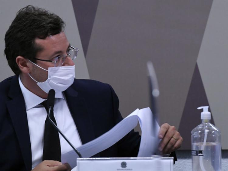 Em depoimento, Fabio Wajngarten, disse que nunca falou à revista Veja que houve