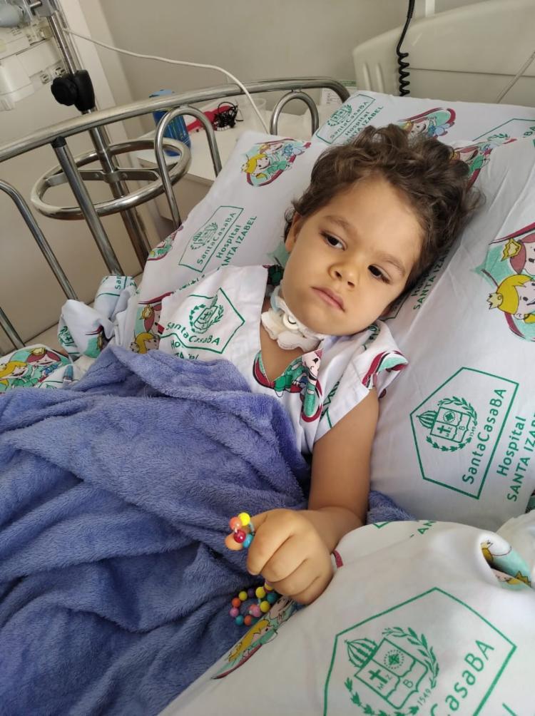 Miguel Enzo foi diagnosticado com a doença rara aos 11 meses de idade | Foto: Acervo Pessoal