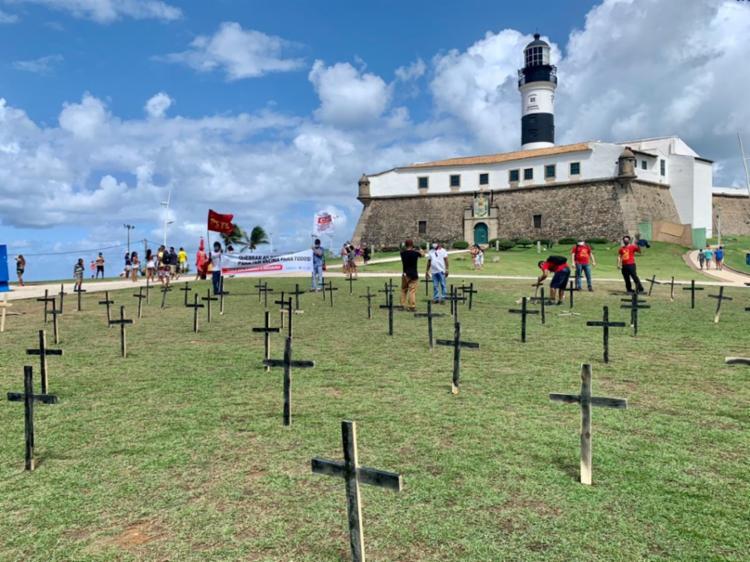 Ato no Farol da Barra | Foto: Divulgação