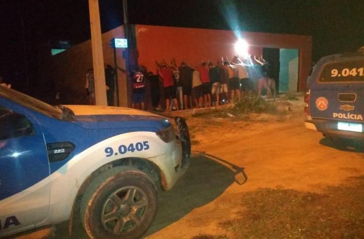 O flagrante ocorreu na noite de sábado, 1°, após denúncias anônimas | Foto: Divulgação | SSP-BA - Foto: Divulgação | SSP