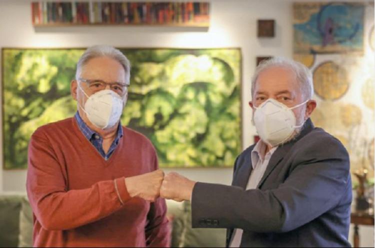 Ex-presidentes FHC e Lula reunidos - Foto: Arquivo Pessoal/Instagram