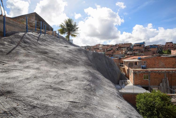 Salvador possui mil pontos de risco para deslizamento de terra | Foto: Betto Jr. | Secom - Foto: Betto Jr. | Secom