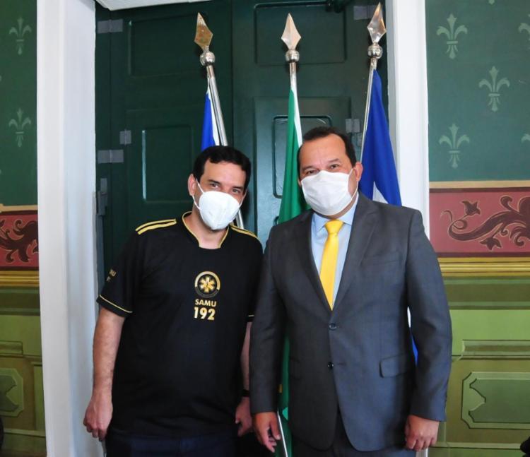 Ambos ainda afirmam que a aliança perpassa por 2024 | Foto: Divulgação | Carlos Alberto - Foto: Divulgação | Carlos Alberto