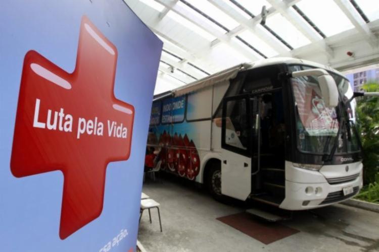 Estoque é crítico para sangue dos grupos A e O   Foto: Camila Souza   GOVBA - Foto: Camila Souza   GOVBA