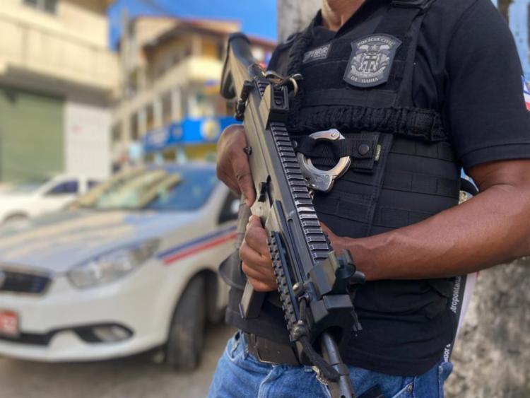 A prisão aconteceu no bairro de Paripe; a vítima havia desaparecido no dia 21 de maio | Foto: Divulgação | Polícia Civil - Foto: Divulgação | Polícia Civil