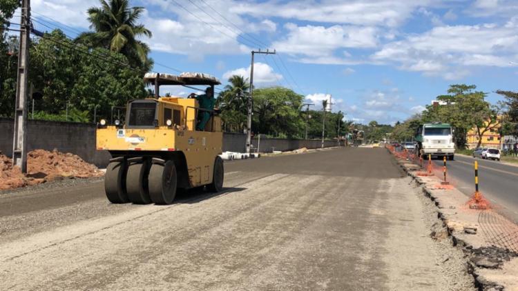 A obra tem uma extensão de 5,4 quilômetros e um investimento de R$ 10,5 milhões. - Foto: Divulgação