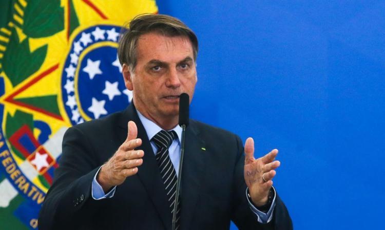 Bolsonaro também voltou a criticar a CPI da Covid, em curso do Senado Federal. Foto: Antonio Cruz   Agência Brasil - Foto: Antonio Cruz   Agência Brasil