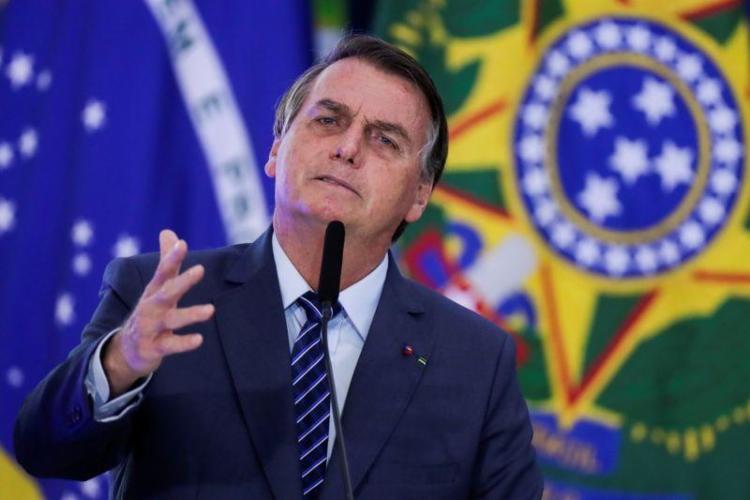Declaração foi feita a apoiadores em frente ao Palácio do Planalto nesta segunda-feira. Foto: Agência Brasil - Foto: Agência Brasil | Divulgação