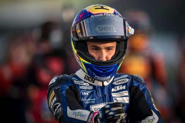Jason Dupasquier era filho de Philippe Dupasquier, piloto de motocross e Supermotocross I Foto: Prüstel GP I Grande Prêmio - Foto: Prüstel GP I Grande Prêmio