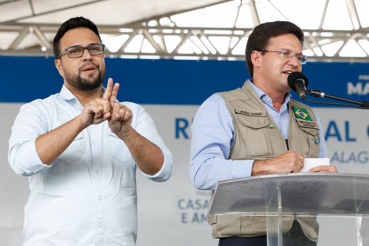 Ministro João Roma discursa em Maceió | Foto: Alan Santos/PR - Foto: Foto: Alan Santos/PR