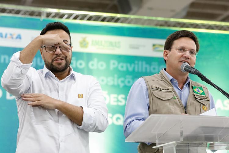 Ministro João Roma discursa em evento com Bolsonaro | Foto: Alan Santos/PR - Foto: Alan Santos/PR