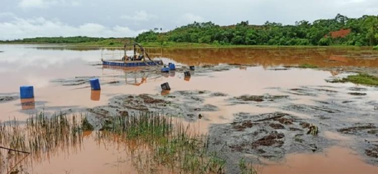 Lagoa do Pirocaua no município de Godofredo Viana é responsável pelo abastecimento de mais de 4 mil moradores - Foto: Foto: Neto Weba