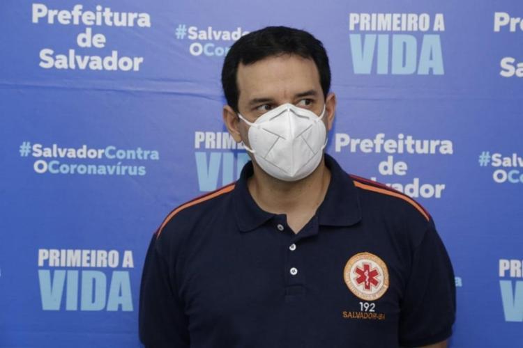 Secretário questionou os critérios de distribuição dos imunizantes   Foto: Divulgação - Foto: Divulgação