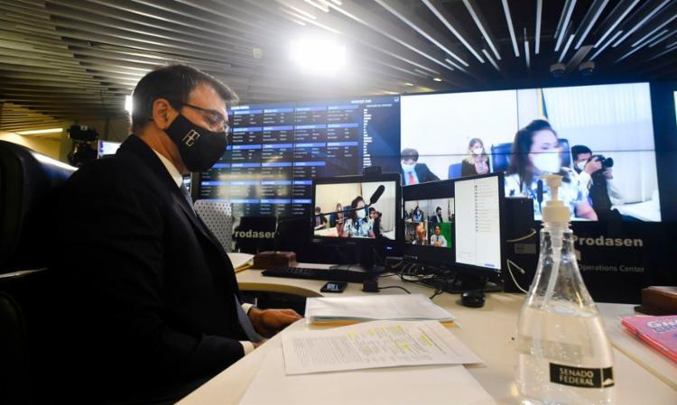 Ministro Carlos França falou hoje na CRE do Senado | Foto: Leopoldo Silva | Agência Senado - Foto: Leopoldo Silva | Agência Senado