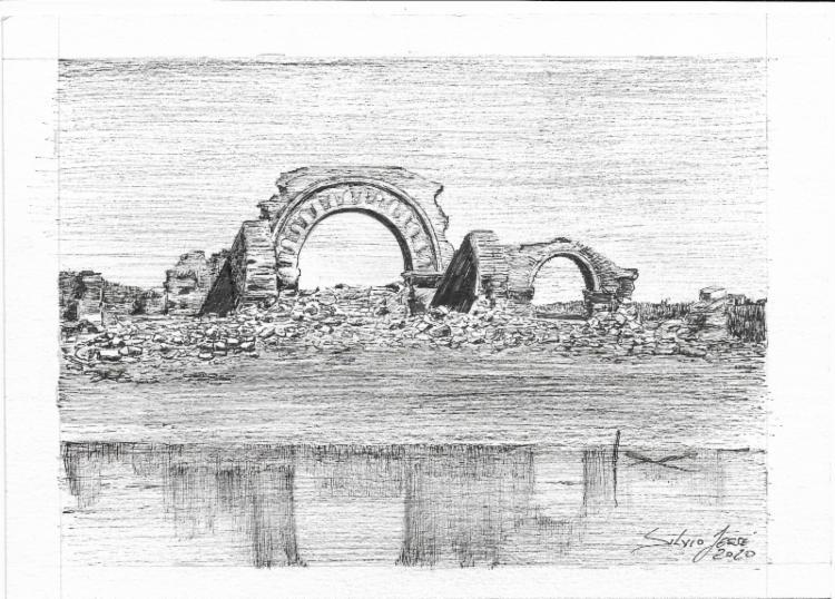 Sertão de Canudos | Ilustração: Silvio Jessé