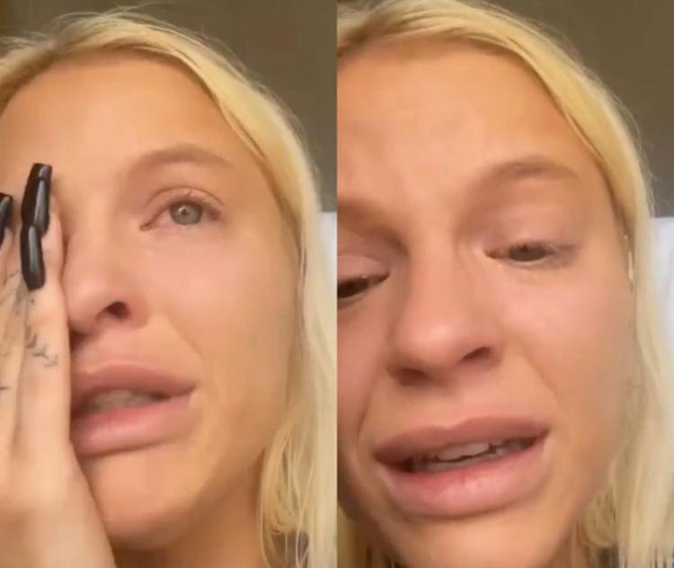 Cantora apagou vídeo chorando | Foto: Reprodução | Instagram - Foto: Reprodução | Instagram
