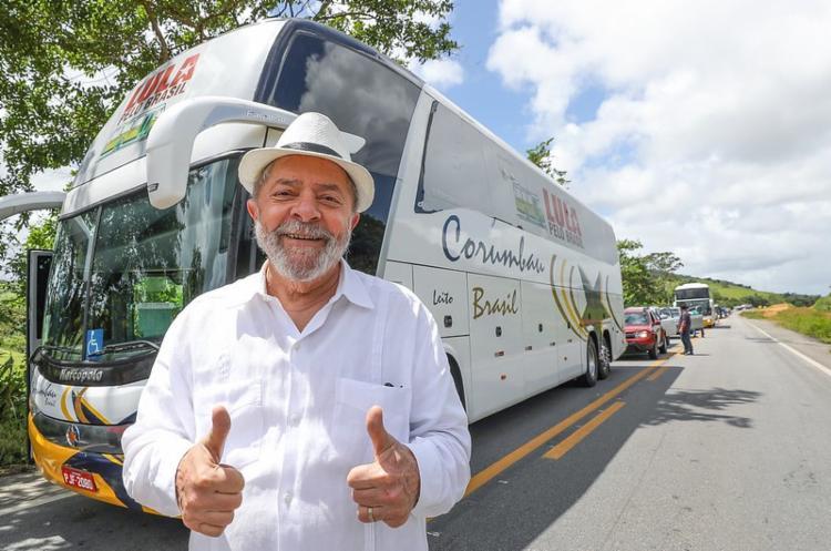 Ex-presidente confirmou que disputará eleições em 2022 | Foto: Ricardo Stuckert - Foto: Foto: Ricardo Stuckert
