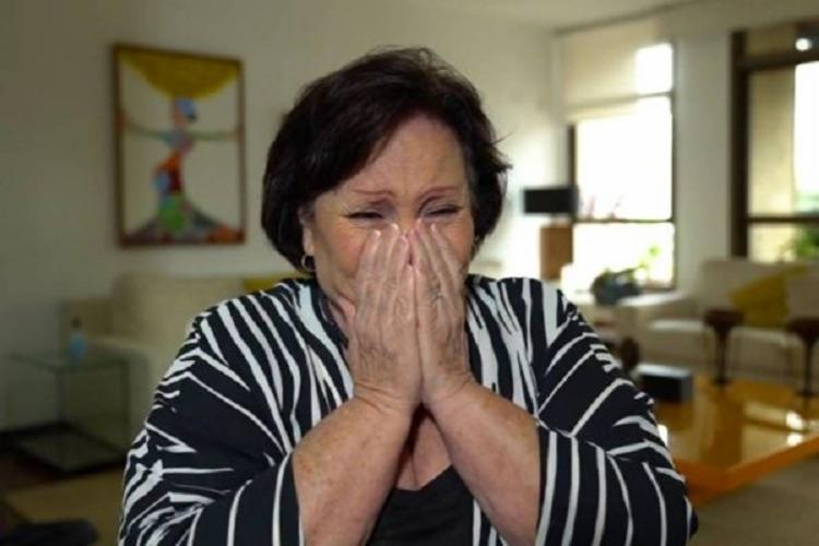 """""""Na pandemia, cada morte de um filho eu chorava por essa mãe sem saber que meu filho ia passar por isso"""", revelou mãe do ator. - Foto: Reprodução   TV Globo"""