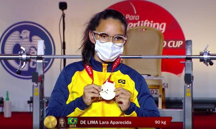 Lara Aparecida venceu e quebrou recorde das Américas entre juniores | Foto: Divulgação | Comitê Paraolímpico Internacional - Foto: Divulgação | Comitê Paraolímpico Internacional
