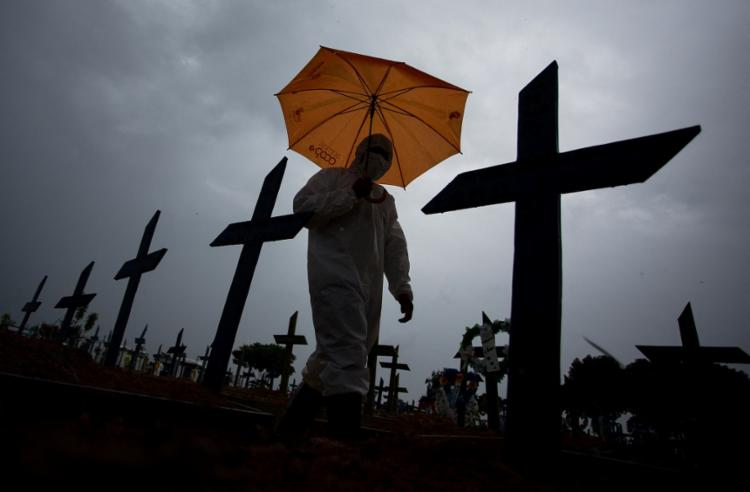Número de casos supera os 16,2 milhões   Foto: Michael Dantas   AFP - Foto: Michael Dantas   AFP