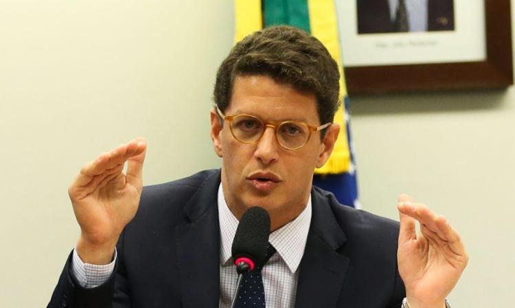 o ministro do Meio Ambiente, Ricardo Salles,defende as ações ordenadas pelo governo do presidente Jair Bolsonaro. - Foto: Divulgação