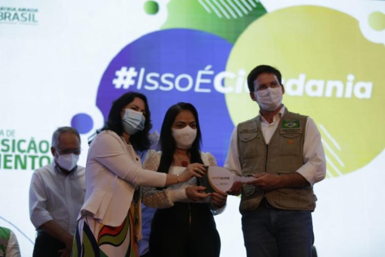 Prefeita do PT participa de evento do governo Bolsonaro - Foto: Adilton | Ag. ATARDE