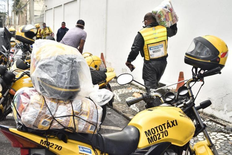 Entrega de cestas acontece de forma escalonada | Foto: Divulgação | Secom - Foto: Divulgação | Secom
