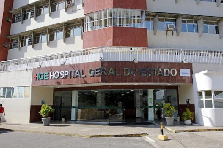 A vítima foi encaminhada para o Hospital Geral do Estado (HGE) | Foto: Divulgação | Sesab - Foto: Divulgação | Sesab