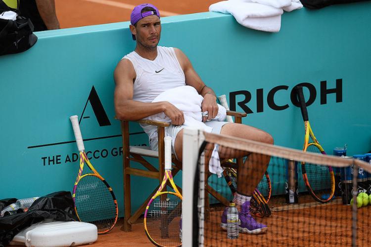 Nadal foi campeão olímpico em simples em 2008 (Londres) e em duplas em 2016 (Rio de Janeiro)   Foto: Oscar Del Pozo   AFP - Foto: Oscar Del Pozo   AFP
