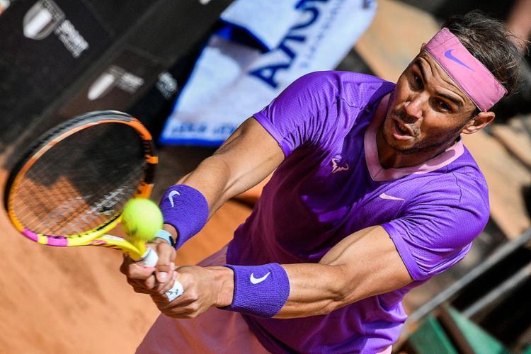 O tenista espanhol passou por dificuldades para bater Denis Shapovalov | Foto: Filippo Monteforte | AFP - Foto: Filippo Monteforte | AFP