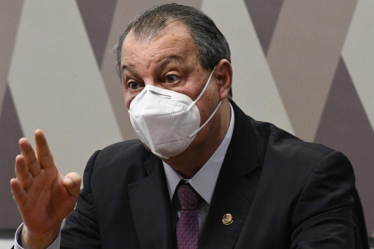 Omar Aziz era visto por integrantes do colegiado como resistente à quebra de sigilo   Foto: Divulgação   Ag. Senado - Foto: Divulgação
