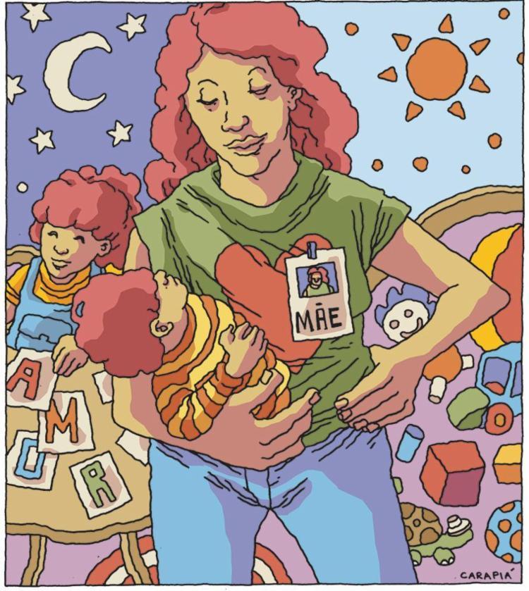 Mãe é a profissão capaz de mudar o mundo. - Foto: Carapiá   Ag. A TARDE