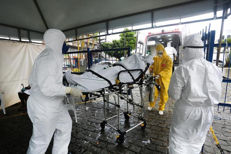 São 928.437 casos confirmados no estado desde o início da pandemia   Foto: Olga Leiria   Ag. A TARDE - Foto: Olga Leiria   Ag. A TARDE